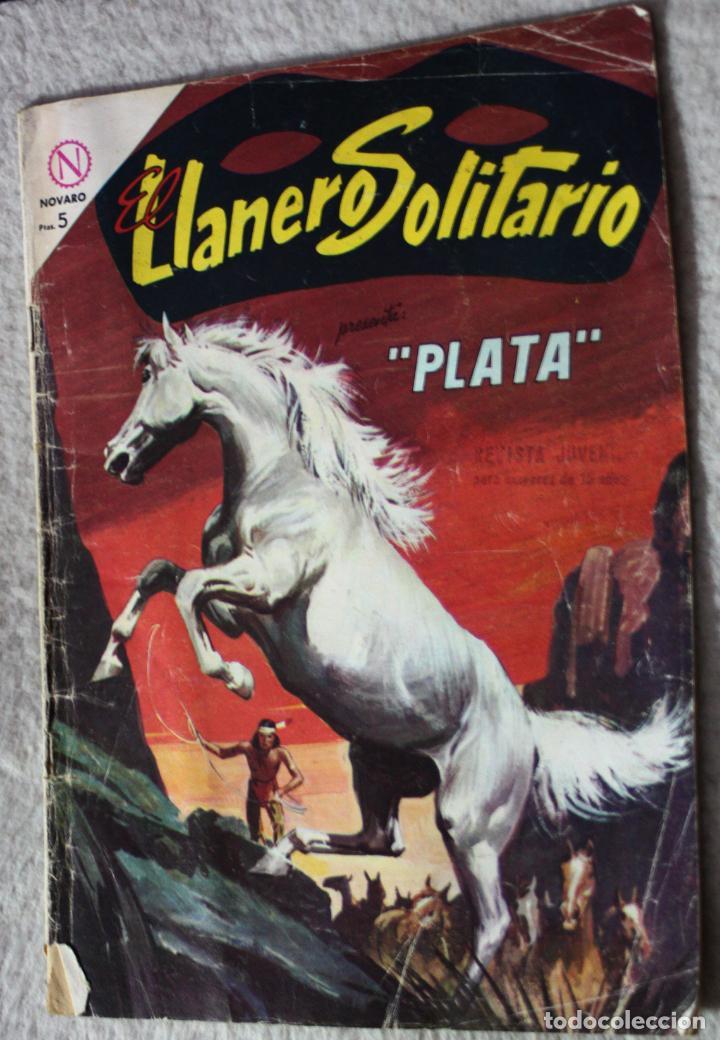EL LLANERO SOLITARIO Nº 133 (DIFÍCIL). PRESENTA : PLATA (Tebeos y Comics - Novaro - El Llanero Solitario)