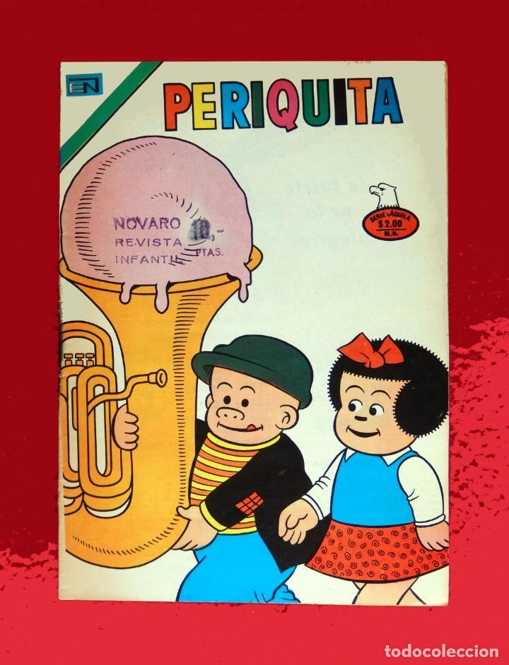 PERIQUITA, Nº 195 - 1975, SERIE ÁGUILA - EDITORIAL NOVARO - ORIGINAL, NUEVO - DIFÍCIL (Tebeos y Comics - Novaro - Otros)