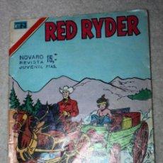 Tebeos: RED RYDER (SERIE AGUILA ): NUM. 2-402 : LOS ASALTANTES DEL TREN.( DIFICIL ). Lote 144850858