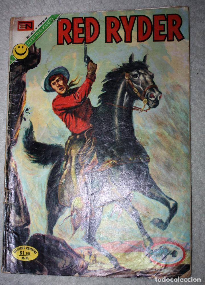 RED RYDER , AÑO XVIII, Nº 283, 26 DE JULIO 1976 : EL VALLE DE LAS HORMIGAS GIGANTES (Tebeos y Comics - Novaro - Red Ryder)
