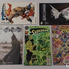 Livros de Banda Desenhada: COMICS BATMAN Y SUPERMAN . Lote 144865786