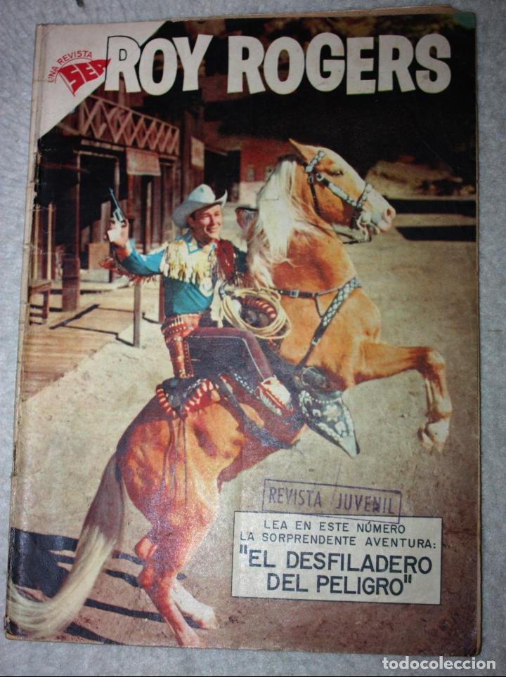 ROY ROGERS Nº 72 EDITORIAL NOVARO, AÑO VI, 1 DE AGOSTO DE 1958 (MUY DIFICIL) (Tebeos y Comics - Novaro - Roy Roger)