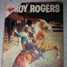 Tebeos: ROY ROGERS Nº 72 EDITORIAL NOVARO, AÑO VI, 1 DE AGOSTO DE 1958 (MUY DIFICIL). Lote 144945166
