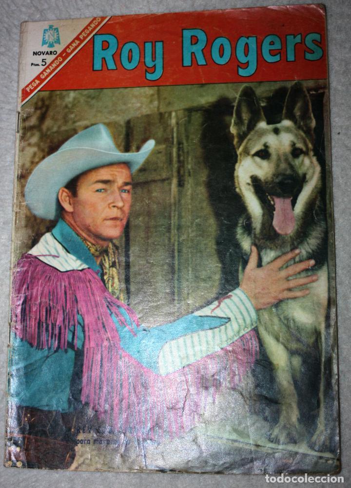 ROY ROGERS Nº 170, EDITORIAL NOVARO, AÑO XV, 1º OCTUBRE 1966 ( DIFICIL) (Tebeos y Comics - Novaro - Roy Roger)