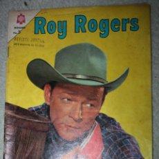 Tebeos: ROY ROGERS Nº 156, EDITORIAL NOVARO, AÑO XIII 1º AGOSTO 1965 ( DIFICIL). Lote 144946226