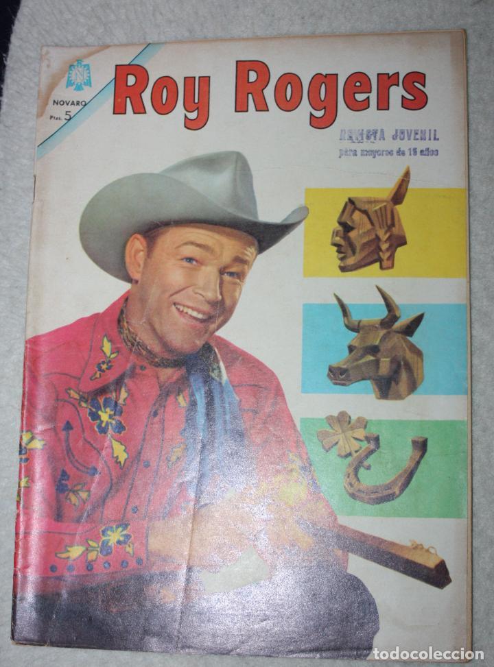 ROY ROGERS Nº 155, EDITORIAL NOVARO, AÑO XIII 1º JULIO 1965 ( DIFICIL) (Tebeos y Comics - Novaro - Roy Roger)