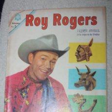 Tebeos: ROY ROGERS Nº 156, EDITORIAL NOVARO, AÑO XIII 1º JULIO 1965 ( DIFICIL)5. Lote 144946450