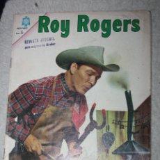 Tebeos: ROY ROGERS Nº 157, EDITORIAL NOVARO, AÑO XIII 1º SEPTIEMBRE 1965 ( DIFICIL). Lote 144946802