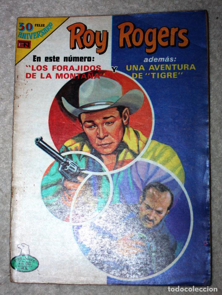ROY ROGERS (SERIE AGUILA) Nº 2-459, EDITORIAL NOVARO, AÑO XVII 13 SEPTIEMBRE 1980 (Tebeos y Comics - Novaro - Roy Roger)
