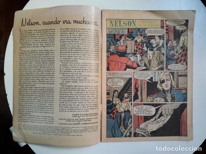 Tebeos: Epopeya n° 5 - Nelson, el héroe de Trafalgar - original editorial Novaro - Foto 2 - 145201922