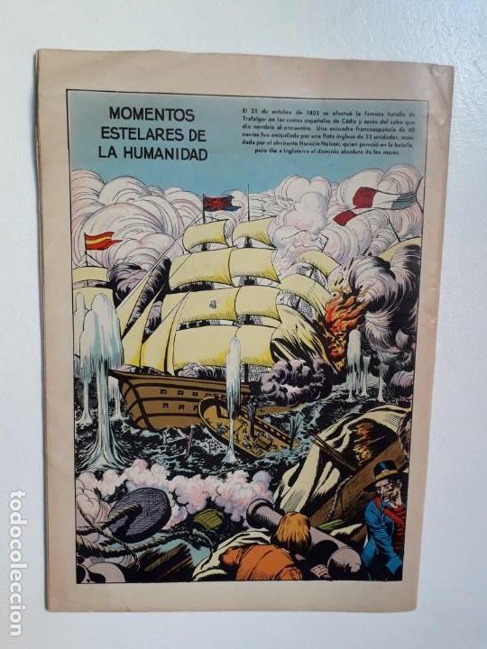 Tebeos: Epopeya n° 5 - Nelson, el héroe de Trafalgar - original editorial Novaro - Foto 4 - 145201922