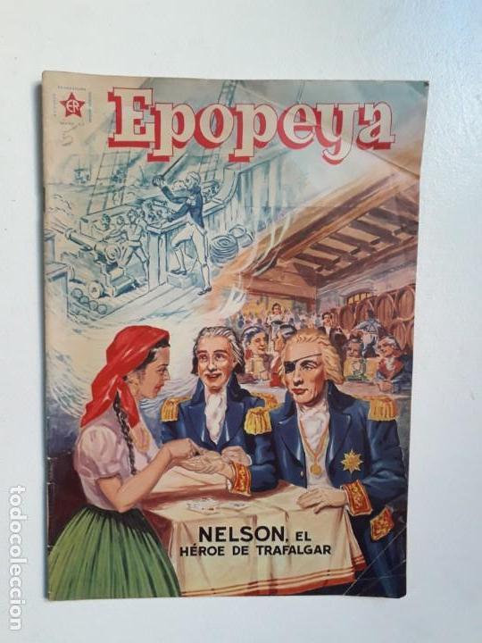 EPOPEYA N° 5 - NELSON, EL HÉROE DE TRAFALGAR - ORIGINAL EDITORIAL NOVARO (Tebeos y Comics - Novaro - Epopeya)