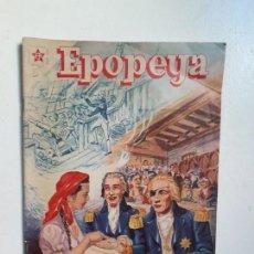 Tebeos: EPOPEYA N° 5 - NELSON, EL HÉROE DE TRAFALGAR - ORIGINAL EDITORIAL NOVARO. Lote 145201922