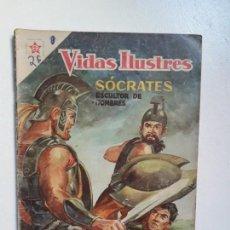 Tebeos: VIDAS ILUSTRES N° 30 - SÓCRATES - ORIGINAL EDITORIAL NOVARO. Lote 145203386