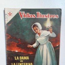 Tebeos: VIDAS ILUSTRES N° 29 - FLORENCIA NIGHTINGALE - ORIGINAL EDITORIAL NOVARO. Lote 145203502