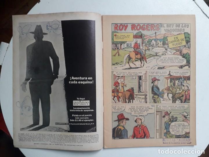Tebeos: Roy Rogers n° 174 - original editorial Novaro - Foto 2 - 145276770