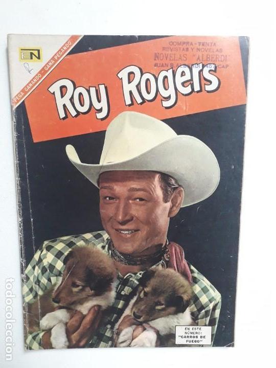ROY ROGERS N° 174 - ORIGINAL EDITORIAL NOVARO (Tebeos y Comics - Novaro - Roy Roger)