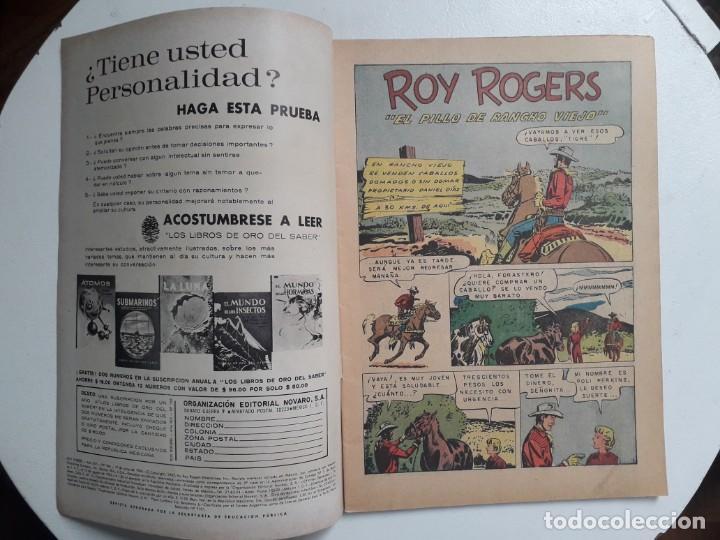 Tebeos: Roy Rogers n° 166 - original editorial Novaro - Foto 2 - 145278198