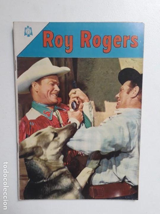 ROY ROGERS N° 166 - ORIGINAL EDITORIAL NOVARO (Tebeos y Comics - Novaro - Roy Roger)