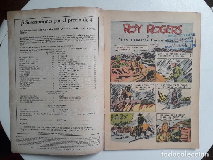 Tebeos: Roy Rogers n° 141 - original editorial Novaro - Foto 2 - 145279178