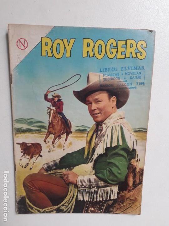 ROY ROGERS N° 141 - ORIGINAL EDITORIAL NOVARO (Tebeos y Comics - Novaro - Roy Roger)