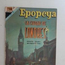 Tebeos: EPOPEYA. Nº 116. NOVARO.. Lote 145289874