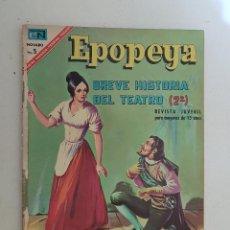 Tebeos: EPOPEYA. Nº 110. NOVARO.. Lote 145290198