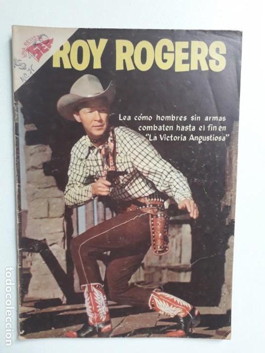 ROY ROGERS N° 75 - ORIGINAL EDITORIAL NOVARO (Tebeos y Comics - Novaro - Roy Roger)