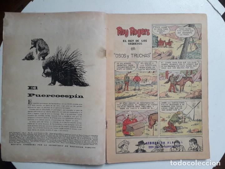 Tebeos: Roy Rogers n° 52 - original editorial Novaro - Foto 2 - 145319002