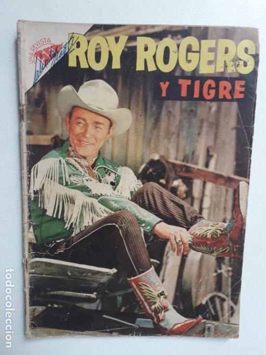 ROY ROGERS N° 52 - ORIGINAL EDITORIAL NOVARO (Tebeos y Comics - Novaro - Roy Roger)