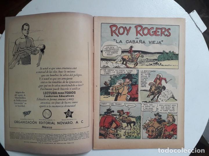 Tebeos: Roy Rogers n° 93 - original editorial Novaro - Foto 2 - 145324522