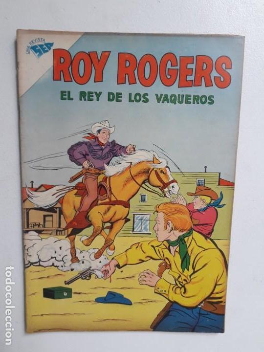 ROY ROGERS N° 93 - ORIGINAL EDITORIAL NOVARO (Tebeos y Comics - Novaro - Roy Roger)