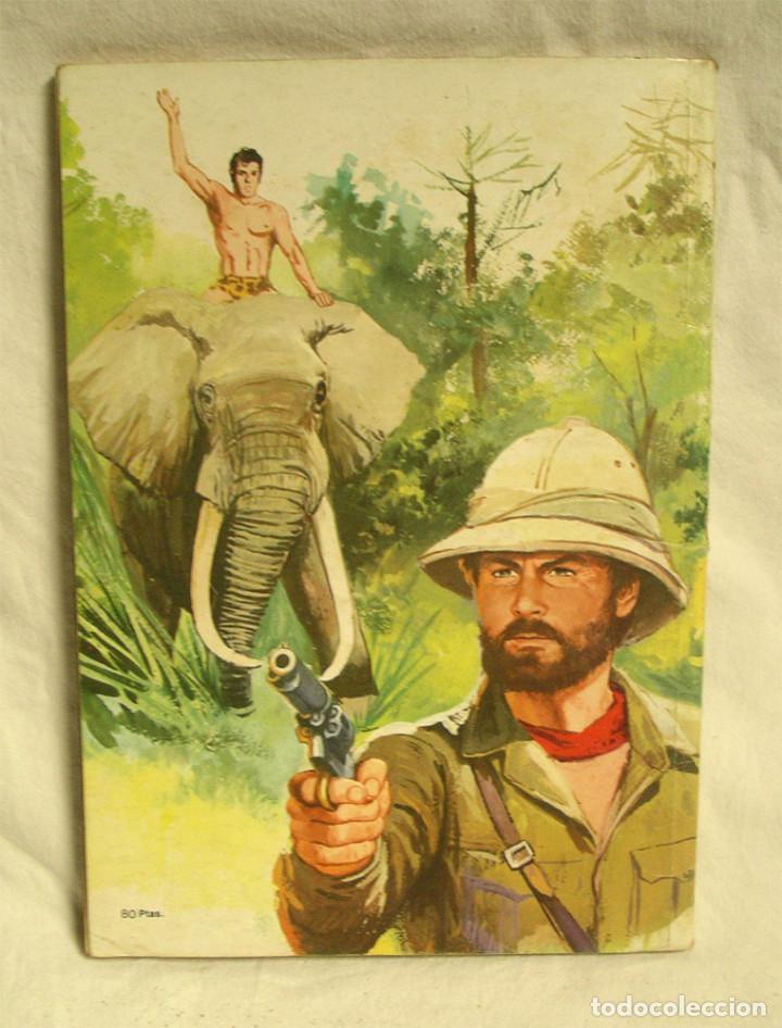 Tebeos: Tarzan librocómic XLVII Tarzán Editorial Novaro - Foto 2 - 145835574