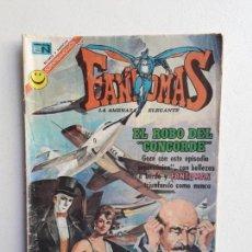 Tebeos: FANTOMAS N° 82 - EL ROBO DEL CONCORDE - ORIGINAL EDITORIAL NOVARO. Lote 145843542