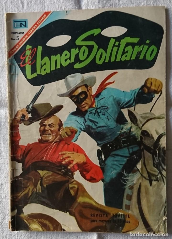 COMIC EL LLANERO SOLITARIO Nº171 ORIGINAL 1967 (Tebeos y Comics - Novaro - El Llanero Solitario)