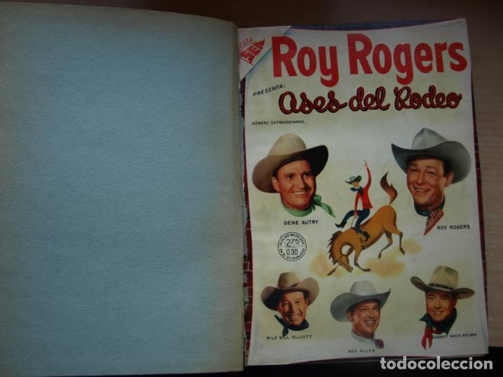 ROY ROGERS - GENE AUTRY -TOMO CÓN 14 NÚMEROS - MUY DIFICILES ORIGINALES - NOVARO - VER FOTOS (Tebeos y Comics - Novaro - Roy Roger)