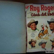 Tebeos: ROY ROGERS - GENE AUTRY -TOMO CÓN 14 NÚMEROS - MUY DIFICILES ORIGINALES - NOVARO - VER FOTOS. Lote 145899462
