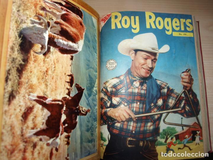 Tebeos: ROY ROGERS - GENE AUTRY -TOMO CÓN 14 NÚMEROS - MUY DIFICILES ORIGINALES - NOVARO - VER FOTOS - Foto 3 - 145899462