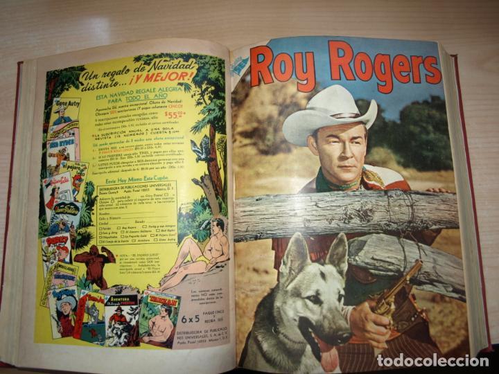 Tebeos: ROY ROGERS - GENE AUTRY -TOMO CÓN 14 NÚMEROS - MUY DIFICILES ORIGINALES - NOVARO - VER FOTOS - Foto 4 - 145899462