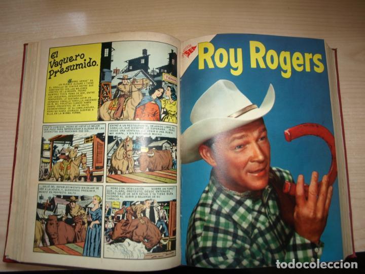 Tebeos: ROY ROGERS - GENE AUTRY -TOMO CÓN 14 NÚMEROS - MUY DIFICILES ORIGINALES - NOVARO - VER FOTOS - Foto 5 - 145899462
