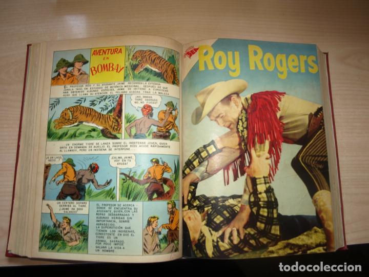 Tebeos: ROY ROGERS - GENE AUTRY -TOMO CÓN 14 NÚMEROS - MUY DIFICILES ORIGINALES - NOVARO - VER FOTOS - Foto 6 - 145899462