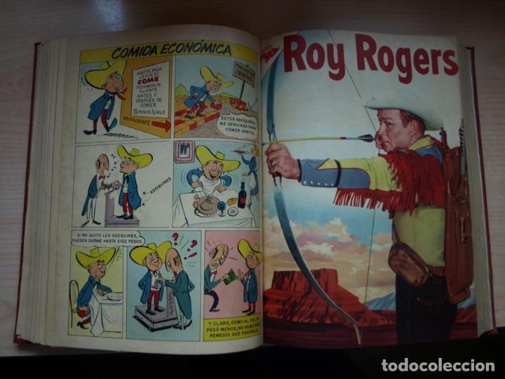Tebeos: ROY ROGERS - GENE AUTRY -TOMO CÓN 14 NÚMEROS - MUY DIFICILES ORIGINALES - NOVARO - VER FOTOS - Foto 7 - 145899462