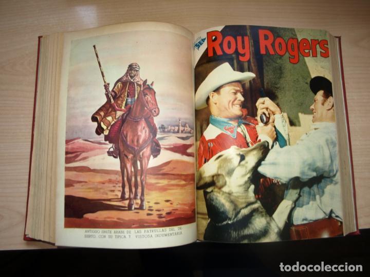 Tebeos: ROY ROGERS - GENE AUTRY -TOMO CÓN 14 NÚMEROS - MUY DIFICILES ORIGINALES - NOVARO - VER FOTOS - Foto 8 - 145899462