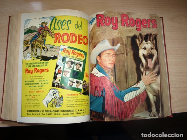 Tebeos: ROY ROGERS - GENE AUTRY -TOMO CÓN 14 NÚMEROS - MUY DIFICILES ORIGINALES - NOVARO - VER FOTOS - Foto 9 - 145899462