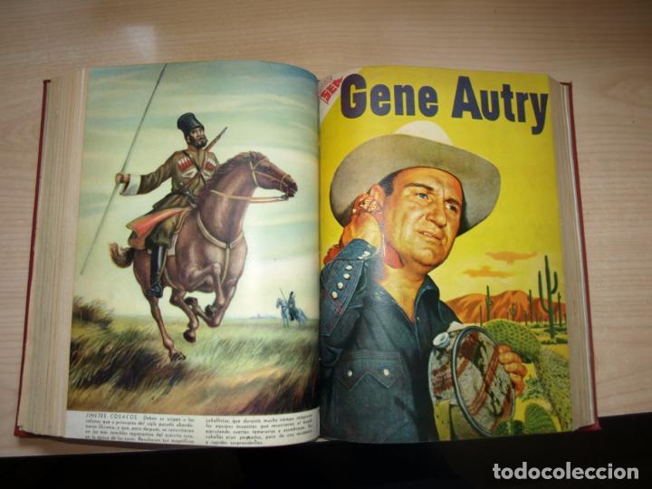 Tebeos: ROY ROGERS - GENE AUTRY -TOMO CÓN 14 NÚMEROS - MUY DIFICILES ORIGINALES - NOVARO - VER FOTOS - Foto 10 - 145899462