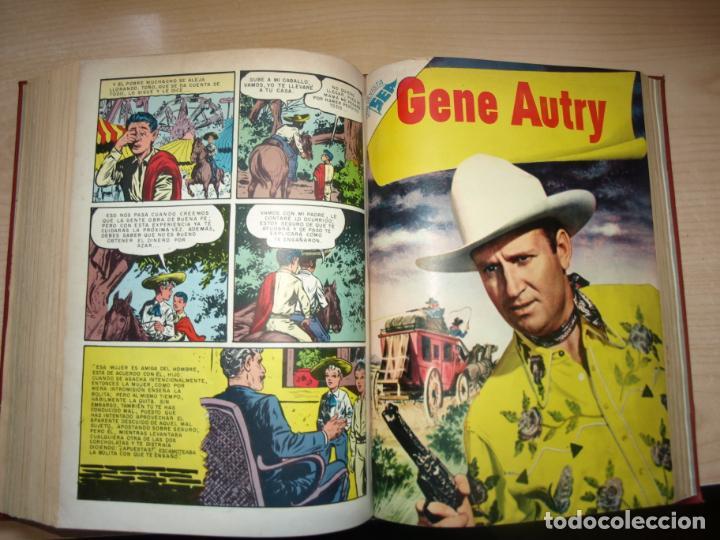 Tebeos: ROY ROGERS - GENE AUTRY -TOMO CÓN 14 NÚMEROS - MUY DIFICILES ORIGINALES - NOVARO - VER FOTOS - Foto 13 - 145899462