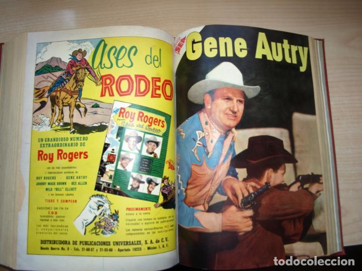 Tebeos: ROY ROGERS - GENE AUTRY -TOMO CÓN 14 NÚMEROS - MUY DIFICILES ORIGINALES - NOVARO - VER FOTOS - Foto 14 - 145899462