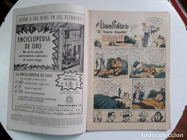 Tebeos: El llanero solitario n° 125 - original editorial Novaro - Foto 2 - 145947402