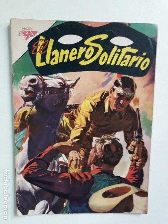 EL LLANERO SOLITARIO N° 113 - ORIGINAL EDITORIAL NOVARO (Tebeos y Comics - Novaro - El Llanero Solitario)