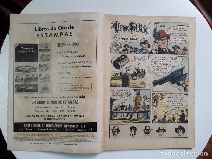 Tebeos: El llanero solitario n° 84 - original editorial Novaro - Foto 2 - 145949114
